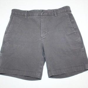 """Everlane Midweight Chino 7"""" Slim Shorts Gunmetal"""